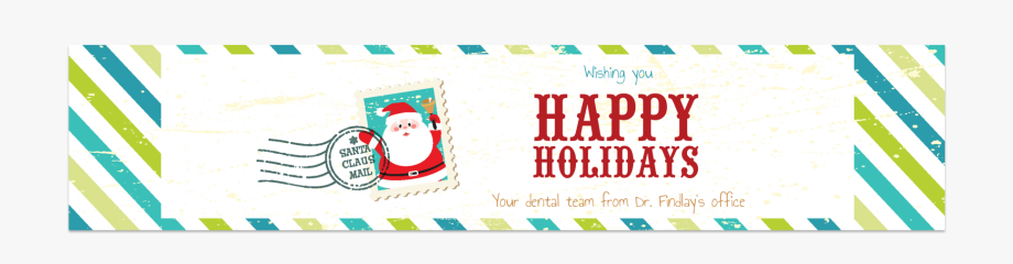 Water clipart font png library download Christmas Water Bottle Label With A Holiday Font - Santa ... png library download