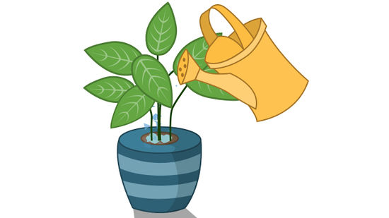 Water clipart for nursery plant picture black and white library How to Grow Healthy Plants: 10 Steps (with Pictures) - wikiHow picture black and white library