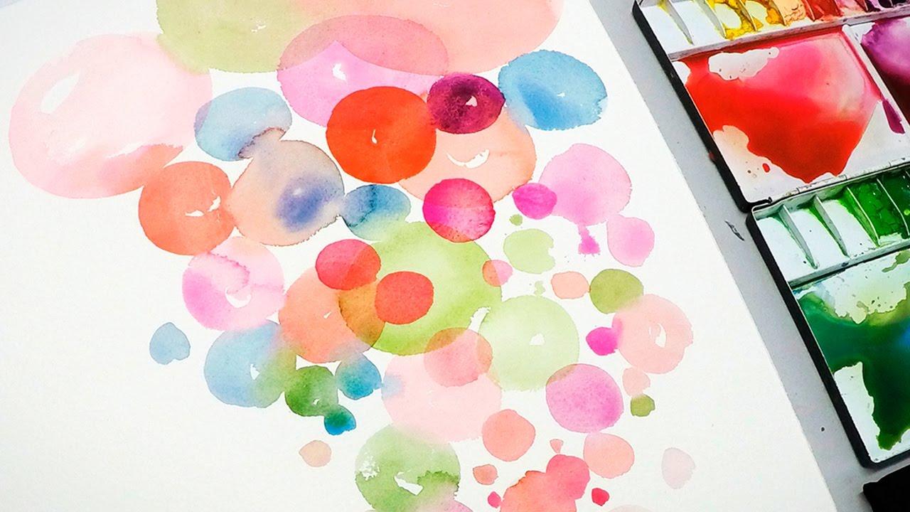 Water color paints clipart image transparent [LVL2] Painting Bubbles with Watercolor image transparent