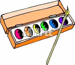 Water color paints clipart clip Watercolors Clipart   Free download best Watercolors Clipart ... clip