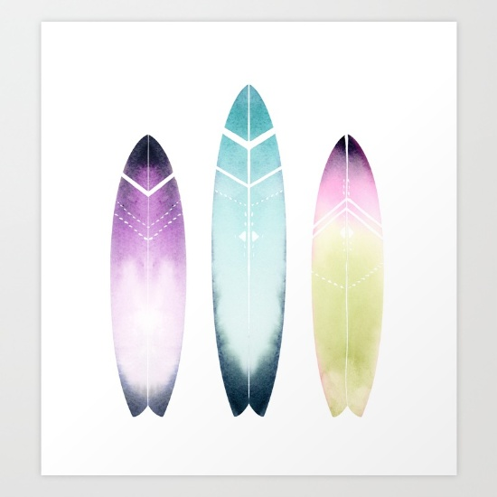 Water color surfboard clipart png royalty free library Drawn Surfboard watercolor - Free Clipart on Gotravelaz.com png royalty free library