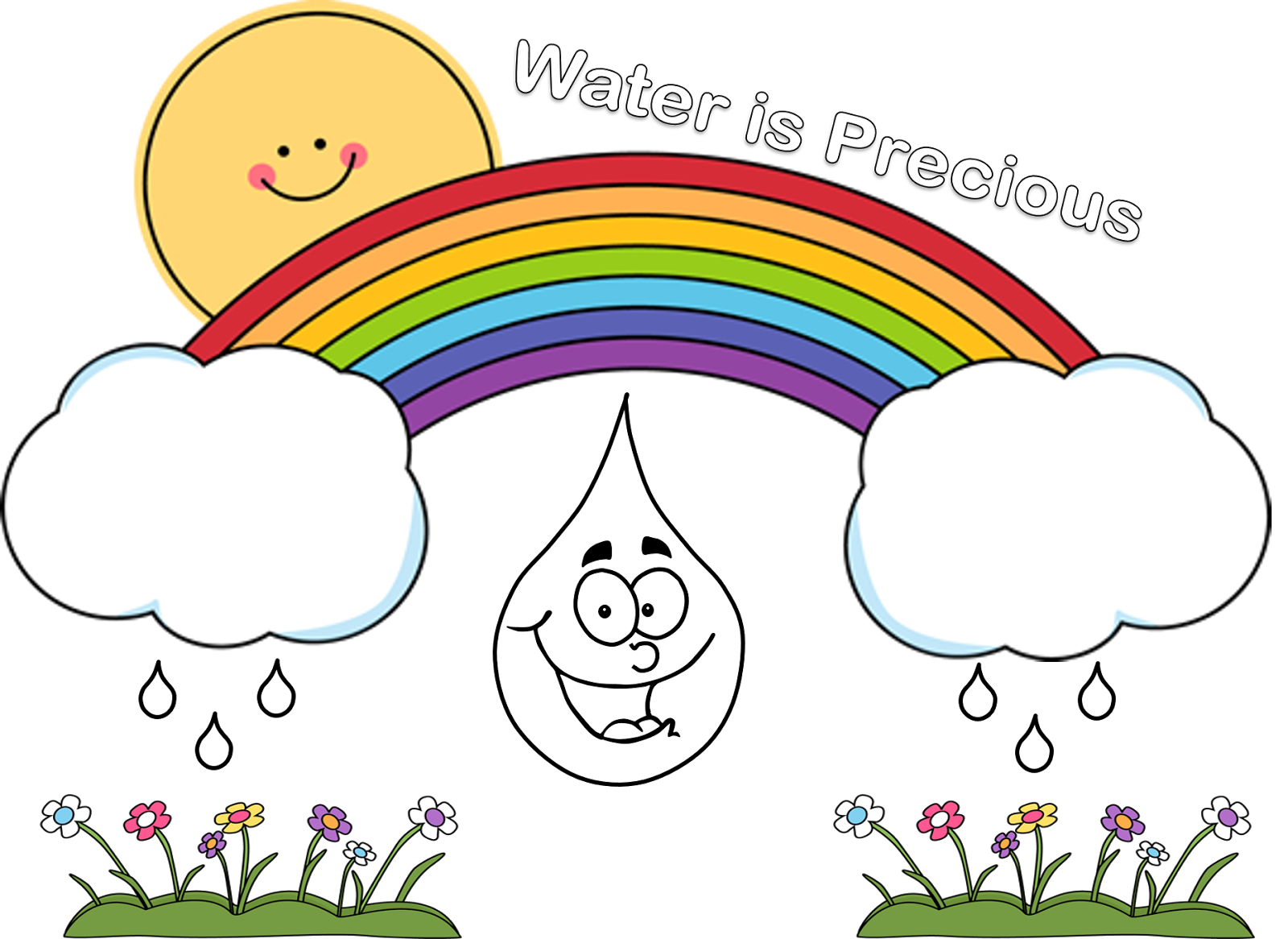 Water conseervation clipart banner freeuse download Poster for water conservation2 | Clipart Club | Geography ... banner freeuse download