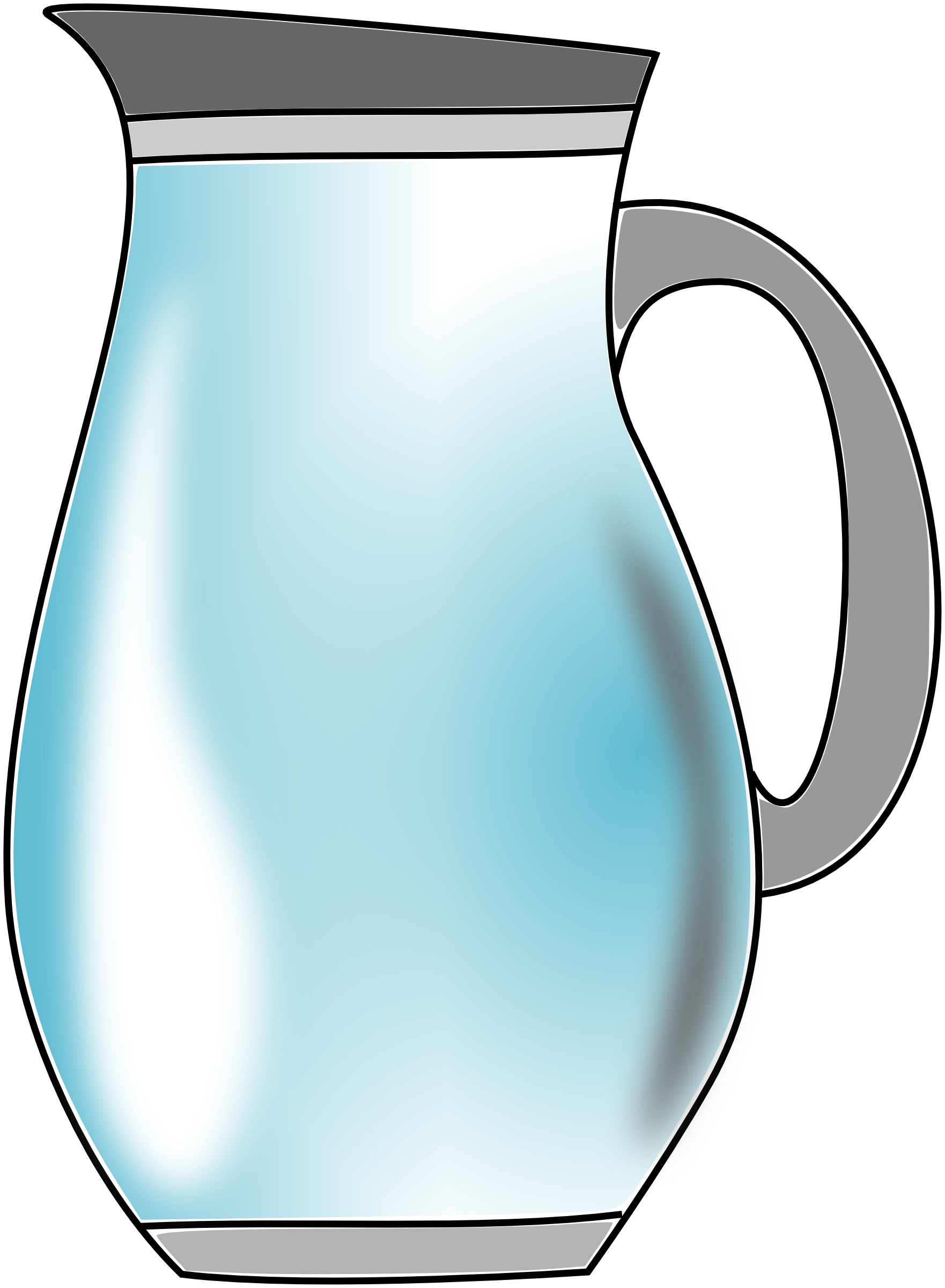 Water cross clipart picture black and white Pitcher Of Water Clipart | Clipart Panda - Free Clipart Images picture black and white