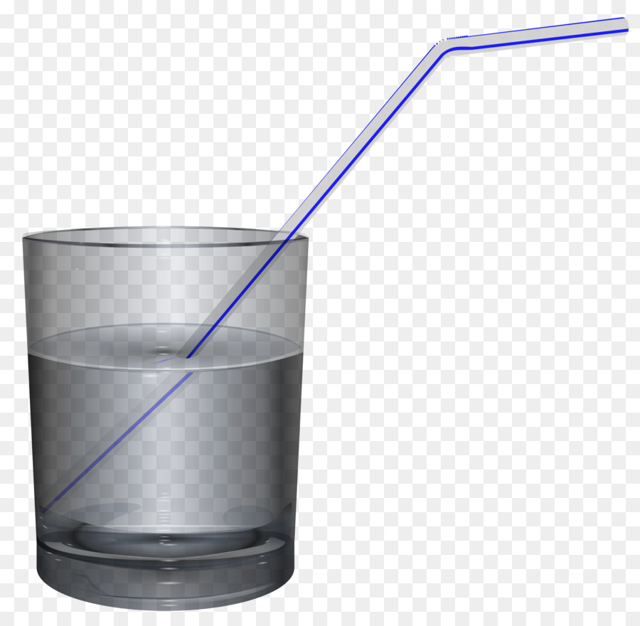 Water cup clipart straw clip royalty free stock Beer Glasses Cup Table-glass - water glass png download ... clip royalty free stock