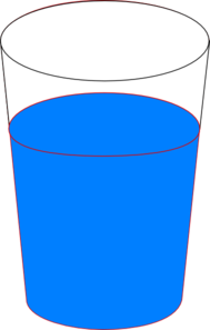 Water cup images clipart picture royalty free library Cup Of Blue Water Clip Art at Clker.com - vector clip art ... picture royalty free library