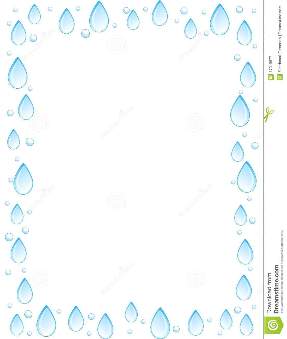 Water cycle clipart frame vector library stock Water cycle clipart frame - ClipartFest vector library stock