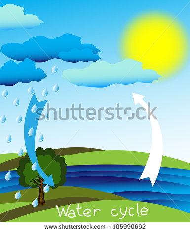 Water cycle clipart frame royalty free download Water Cycle Stock Images, Royalty-Free Images & Vectors | Shutterstock royalty free download