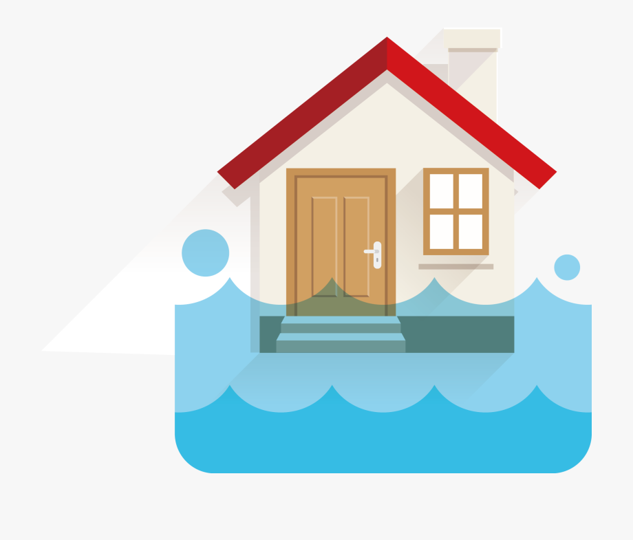 Water damage clipart