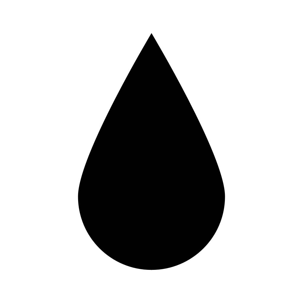 Water droplet clipart black image stock Drop Of Water Clipart | Free download best Drop Of Water ... image stock