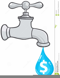 Water faucet clipart free svg black and white Water Faucet Clipart | Free Images at Clker.com - vector ... svg black and white
