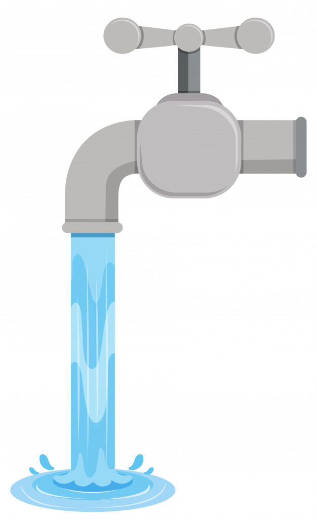 Water faucet running clipart svg royalty free Faucet Vectors, Photos and PSD files | Free Download svg royalty free