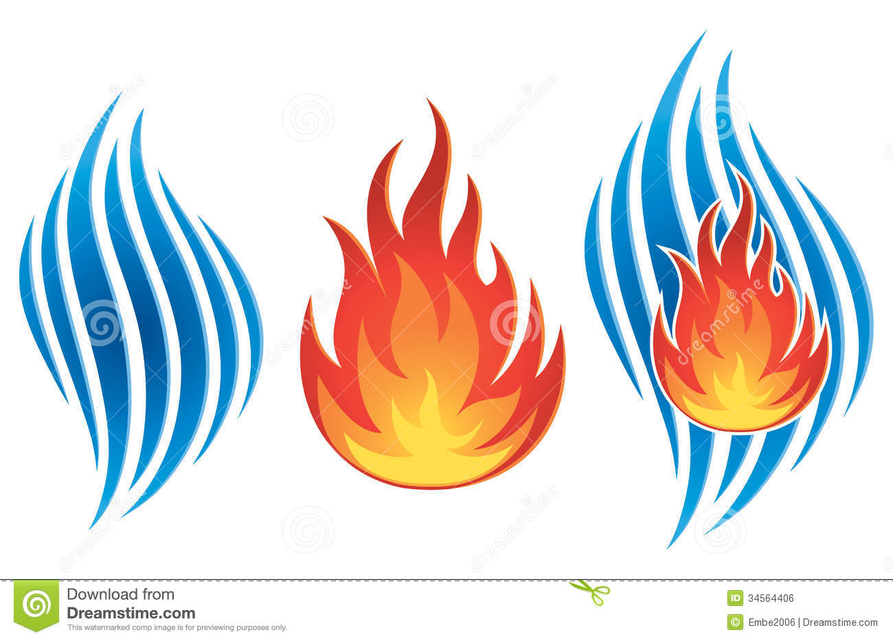 Water fire clipart png free download Water Fire Logo Royalty Free | Clipart Panda - Free Clipart ... png free download