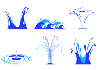Water gushing clipart png library library Gushing Water photos, royalty-free images, graphics, vectors ... png library library