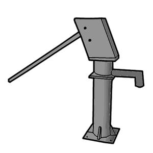Water hand pump clipart clip library Manual Pumping | SSWM - Find tools for sustainable ... clip library