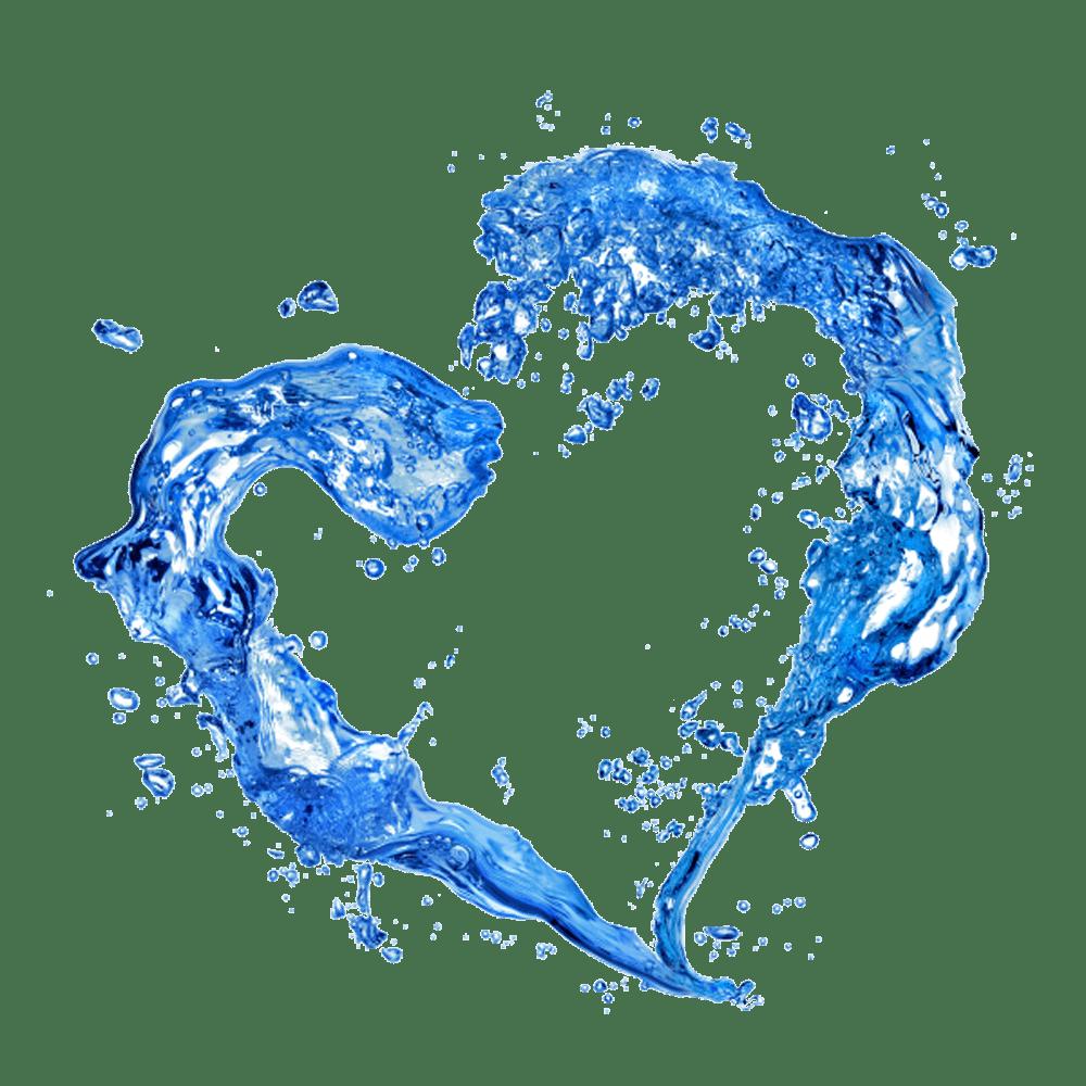 Water heart clipart transparent Water Heart transparent PNG - StickPNG transparent