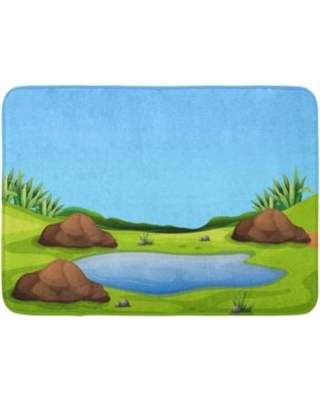 Water hole clipart