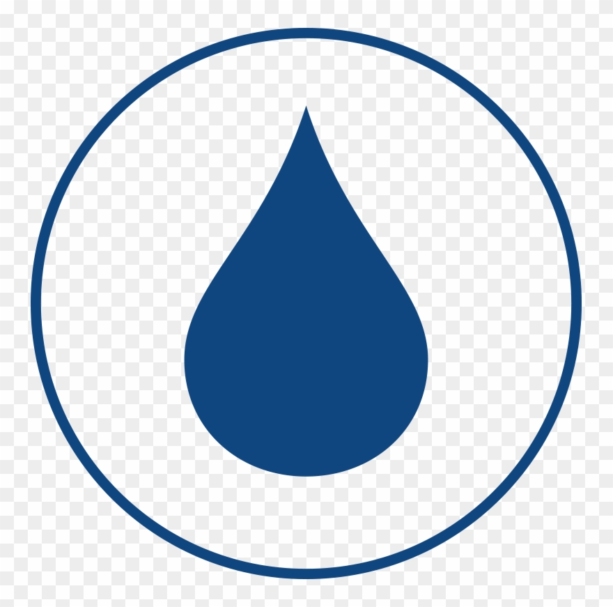 Water icon clipart black and white library Water-drop Icons - Water Drop Icon Blue Clipart (#1462564 ... black and white library