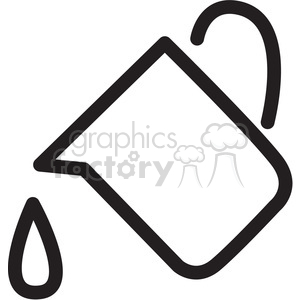 Water icon clipart clipart black and white stock pitcher of water icon . Royalty-free icon # 398313 clipart black and white stock