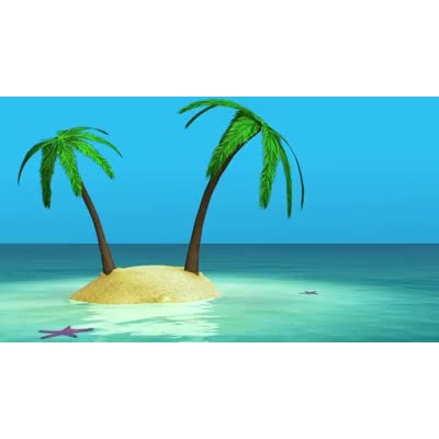 Water island clipart svg freeuse stock Ocean Island - Video Backgrounds - Video Background for ... svg freeuse stock