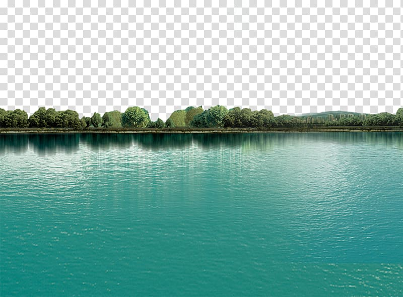 Water landscape clipart jpg freeuse Landscape of trees and body of water, Lake Beautiful, lake ... jpg freeuse