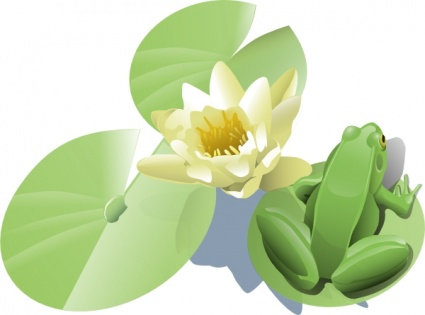 Water lily vector free download png library stock Yellow Water Lily Clip Art – Clipart Free Download png library stock