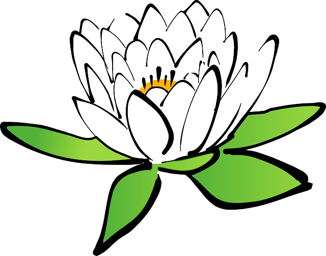 Water lily vector free download freeuse Free vector graphic: Lotus, Flower, Water Lily - Free Image on ... freeuse
