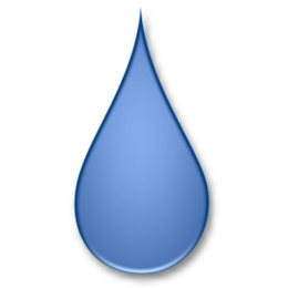 Water meniscus drop clipart jpg black and white Water Cartoon png download - 1032*774 - Free Transparent ... jpg black and white