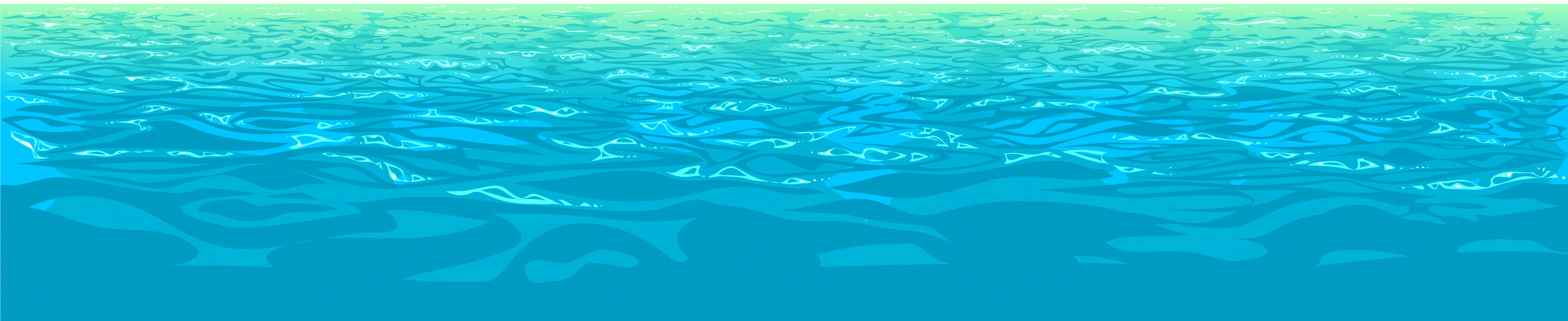 Water ocean background clipart picture free library HD Sea Water Png Clipart - Ocean With No Background , Free ... picture free library