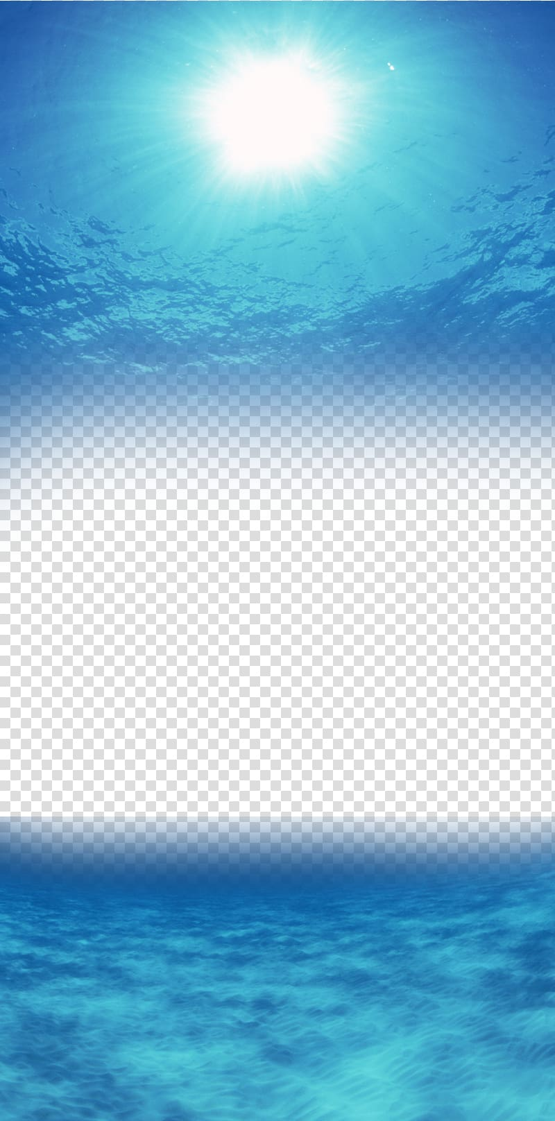 Water ocean background clipart clipart black and white library Light Reflection, Halo sea transparent background PNG ... clipart black and white library