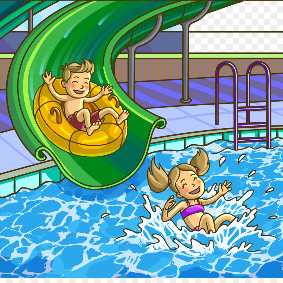 Water park clipart images png download Playground Cartoon png download - 1660*1632 - Free ... png download