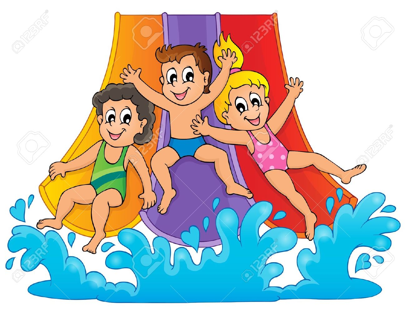 Water park clipart images svg library 23+ Water Park Clip Art | ClipartLook svg library