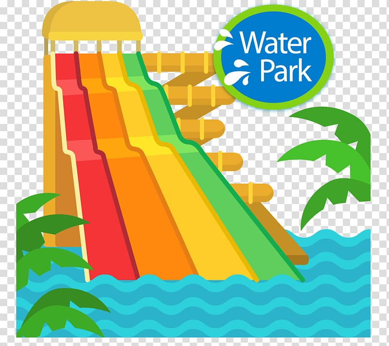 Water park slides clipart png library stock Water park , hand-drawn surfing slides transparent ... png library stock