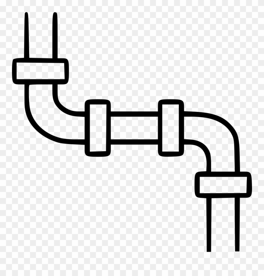 Water pipeline clipart clip black and white Water Pipeline Engineering Tube Plumbing Drain Comments ... clip black and white