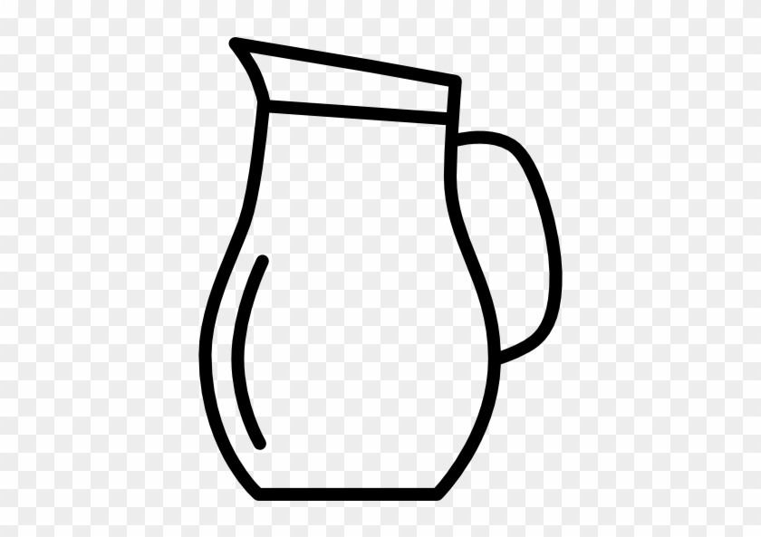 Water pitcher clipart transparent jpg download Water Pitcher Png Black And White & Free Water Pitcher Black ... jpg download
