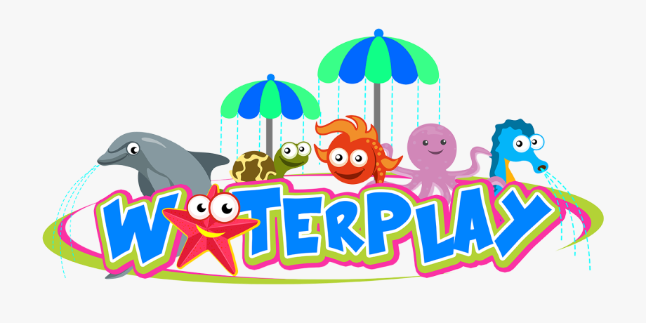 Water play clipart banner free stock Another Attraction For The Kids, Waterplay Is Composed ... banner free stock