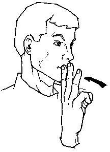Water sign language clipart png stock Water sign language clipart - ClipartFest png stock