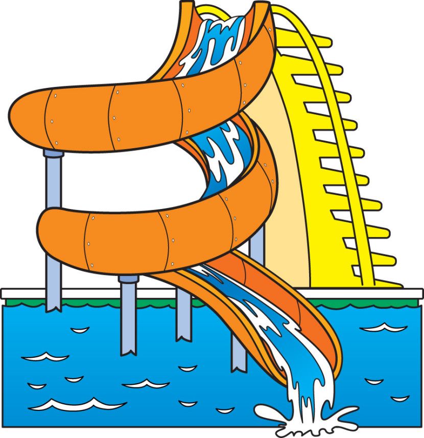 Water slide showing potenial energy clipart svg library stock Penguin clipart slide pencil and in color penguin – Gclipart.com svg library stock