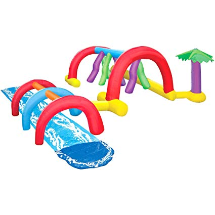 Water slip and slide clipart svg library stock Amazon.com: Inflatable Adventure Water Park. This Slip N ... svg library stock