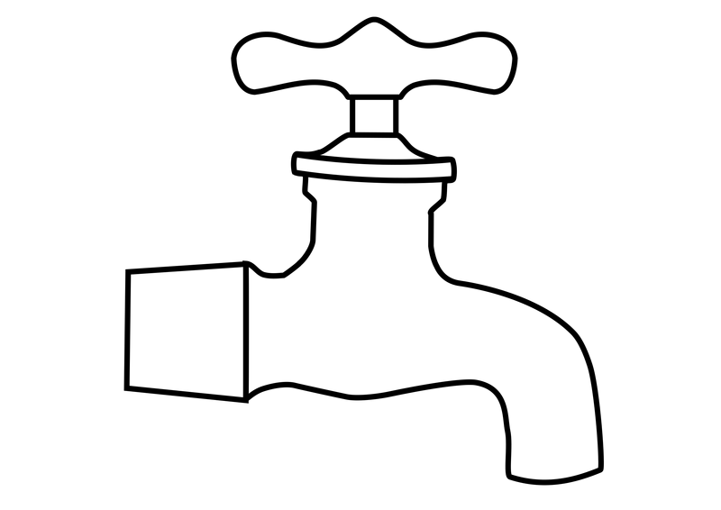 Water spiket clipart image library stock Water Faucet Vector Clipart image - Free stock photo ... image library stock