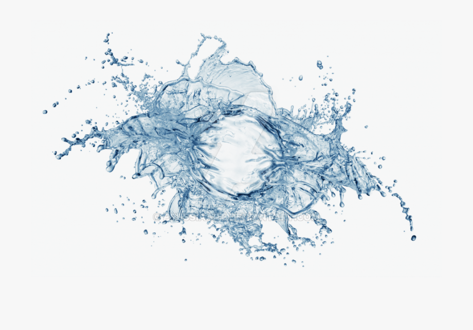 Water spray clipart transparent background free Spray On A - Water Splash White Background , Transparent ... free