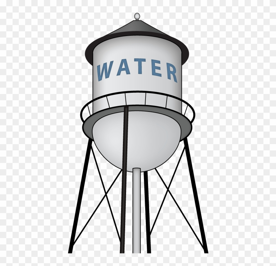 Water tank clipart images svg black and white download Water Tank Clip Art - Png Download (#85688) - PinClipart svg black and white download