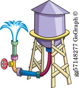 Water tank clipart images png royalty free download Water Tank Clip Art - Royalty Free - GoGraph png royalty free download