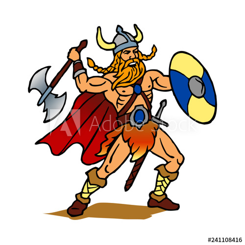 Water warrior clipart jpg freeuse download Viking warrior with ax and shield Scandinavia Denmark ... jpg freeuse download