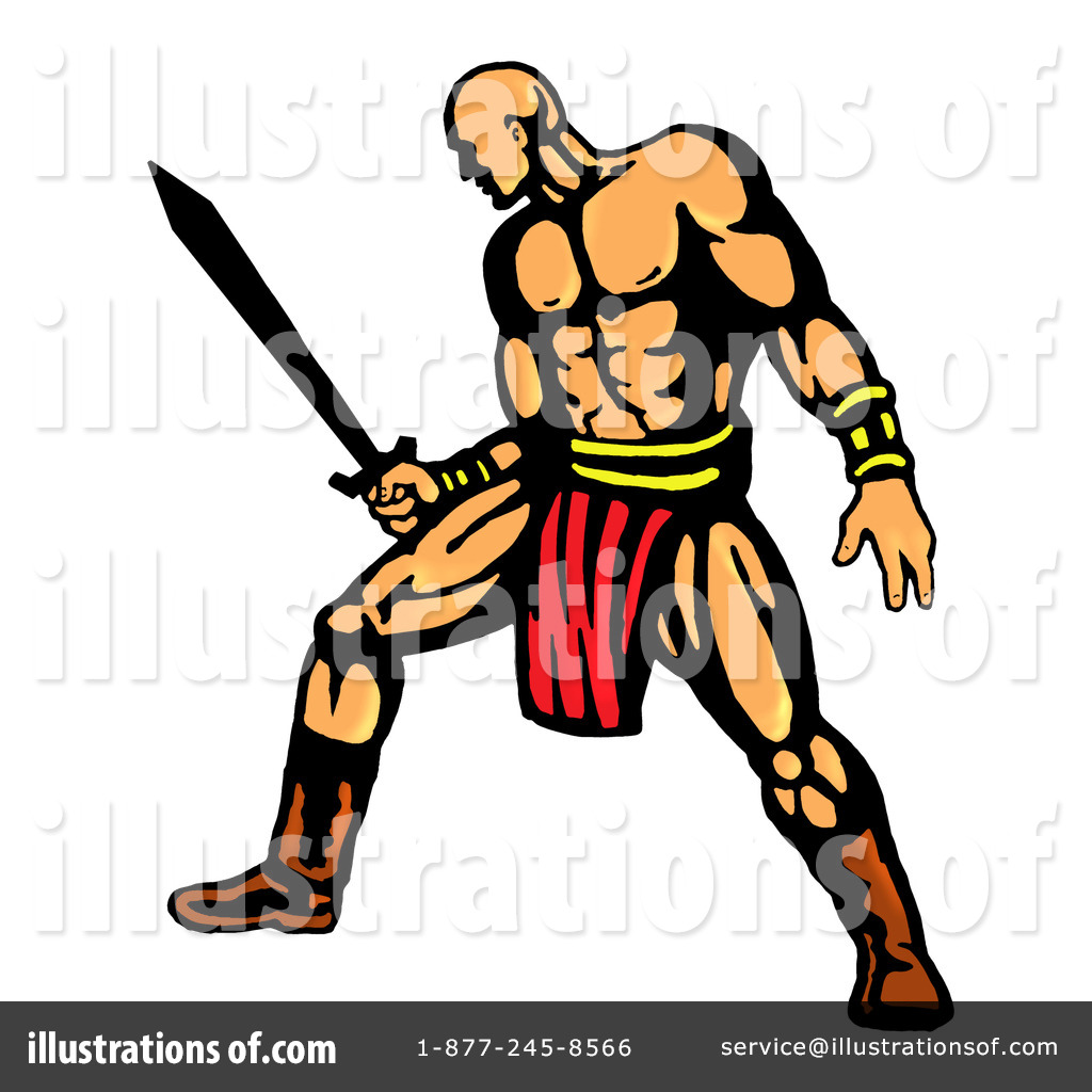 Water warrior clipart freeuse library Warrior Clipart #85178 - Illustration by patrimonio freeuse library