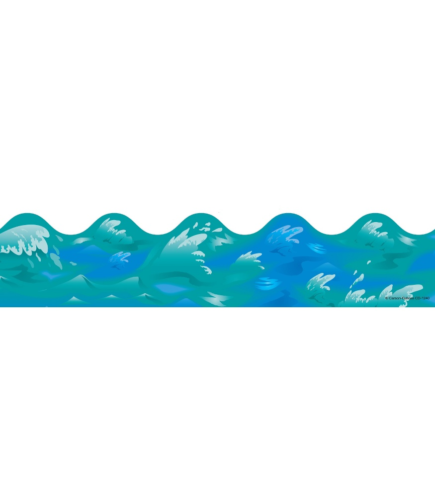 Water wave border clipart black and white stock Waves Borders | Free download best Waves Borders on ... black and white stock