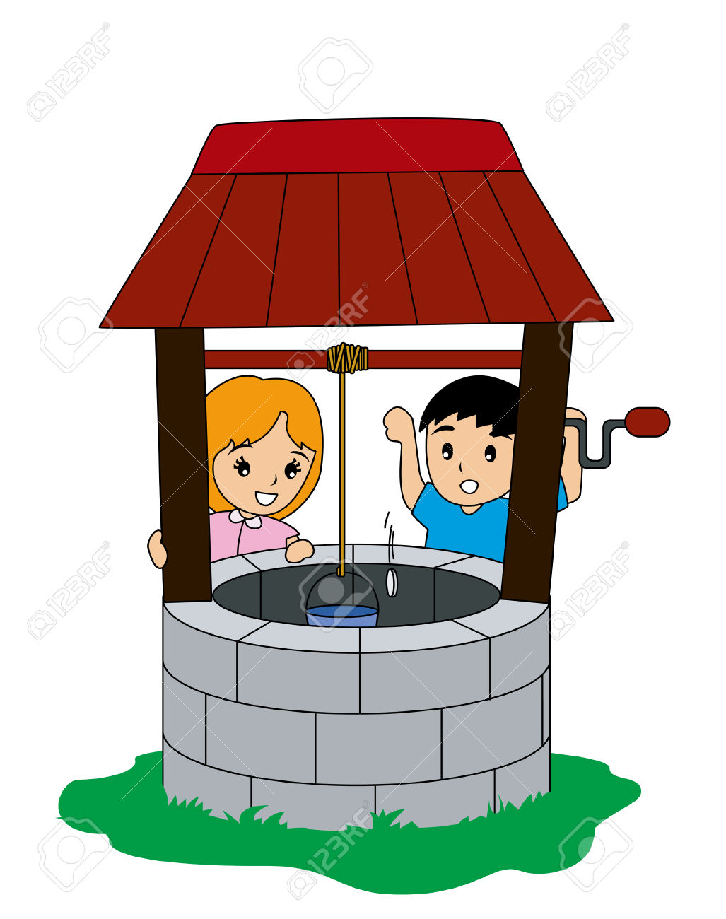 Water well pulley clipart jpg freeuse library Well Clipart | Free download best Well Clipart on ClipArtMag.com jpg freeuse library