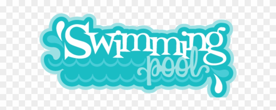 The word swimming clipart picture free library Pool Clipart Water Park - Swimming Pool Word Png Transparent ... picture free library