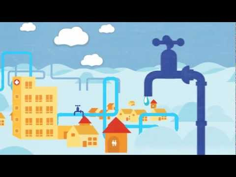 Wateraid clipart svg free Water Works - YouTube svg free