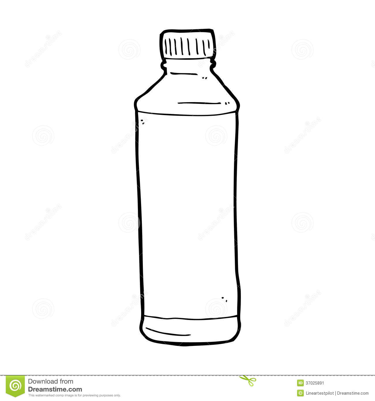Waterbottle clipart black and white vector freeuse stock Water bottle clipart black and white 4 » Clipart Station vector freeuse stock