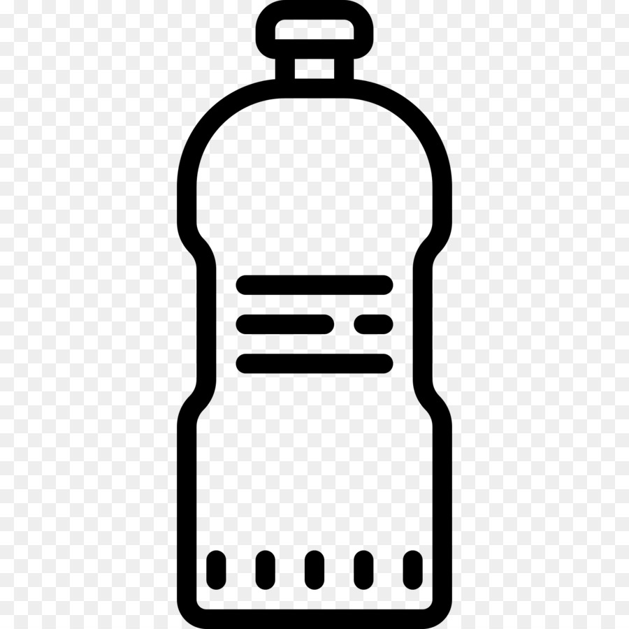 Waterbottle clipart black and white vector transparent Black Line Background png download - 1600*1600 - Free ... vector transparent